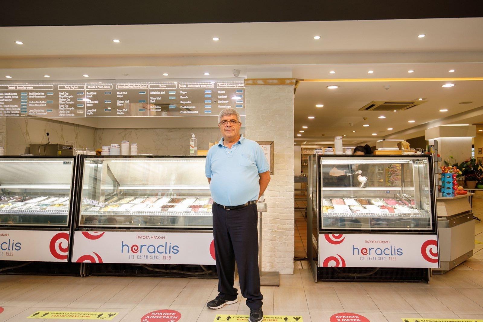 «O Heraclis ξεκίνησε την αγορά παγωτού στην Κύπρο»